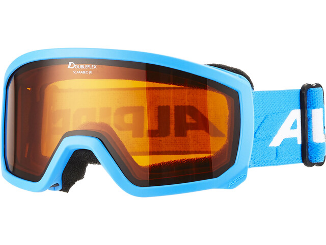 Alpina Scarabeo Doubleflex S2 Gafas Niños, lightblue